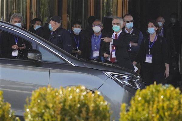 WHO team visits 2nd Wuhan hospital