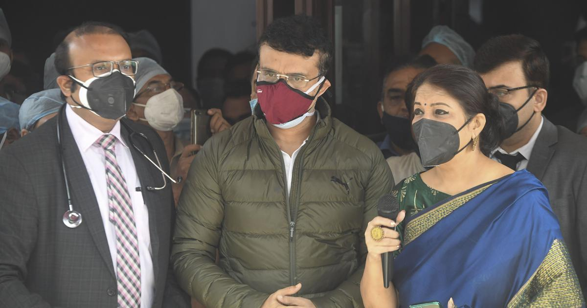 Sourav Ganguly has been discharged from Hospital