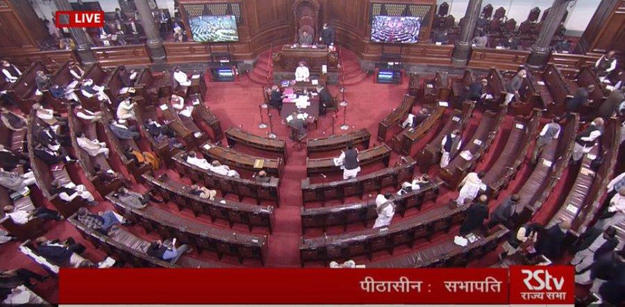Opposition walks out of Rajya Sabha