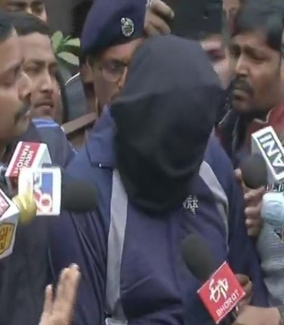 Rituraj, accused arrested by Bihar police in connection with the Indigo manager Rupesh murder case.