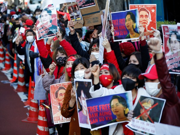 Protest grows in Myanmar