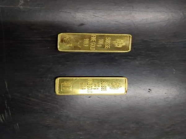 Gold biscuits seized at Jaipur Airport
