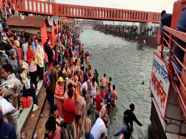 People at Haridwar