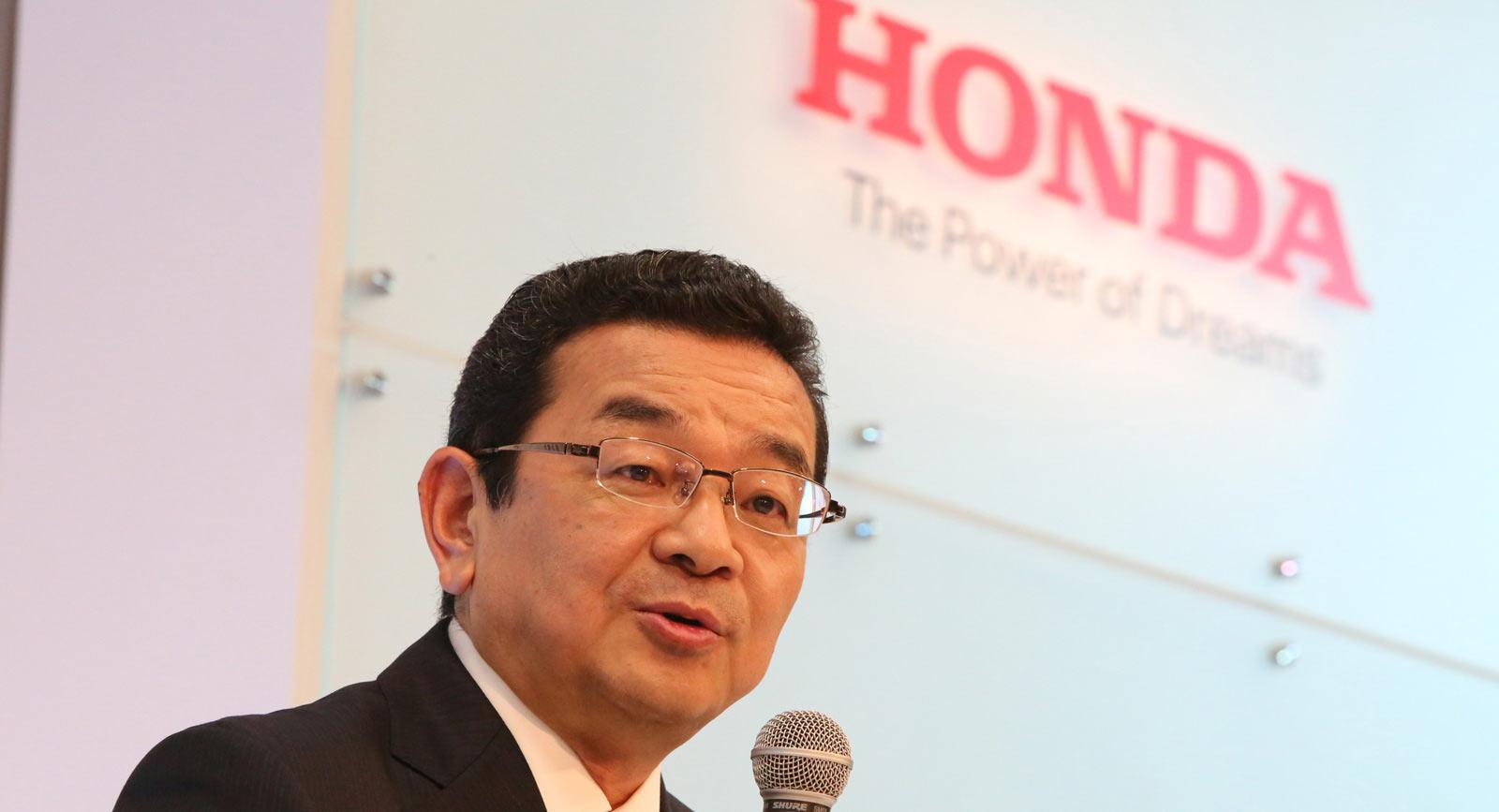 Chief Executive Officer Takahiro Hachigo