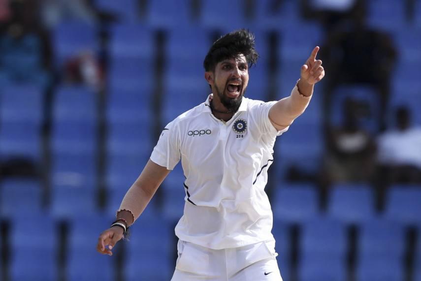 India pacer Ishant Sharma