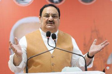 Bharatiya Janata Party (BJP) President JP Nadda