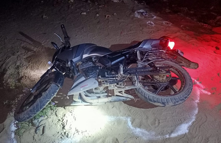 Bike including  weapons recovered from criminals