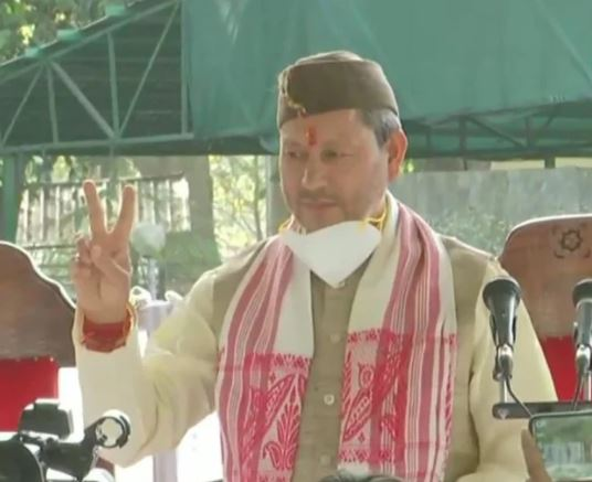 Tirath Singh Rawat takes oath as Chief Minister of Uttarakhand
