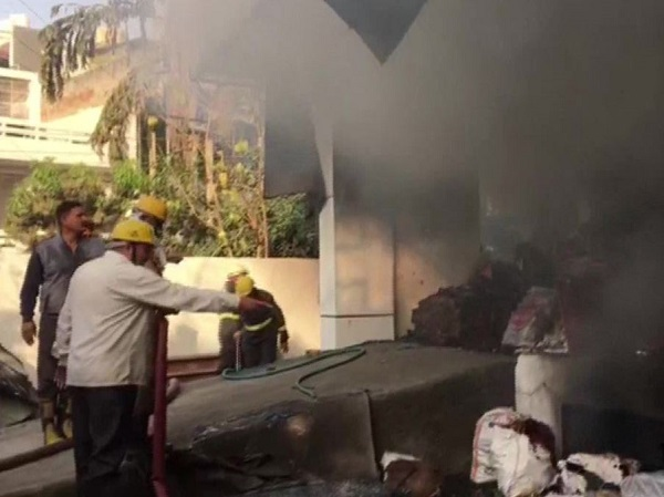 Fire breaks out at Noida Sector 7