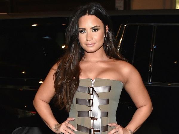 American singer Demi Lovato