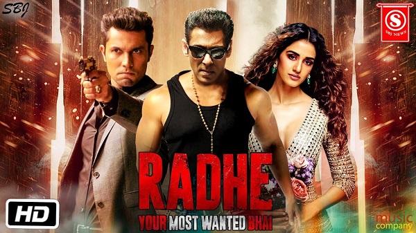 Poster of movie Radhe