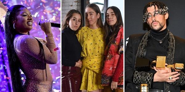 List of stars at Grammy Award Function