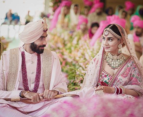 India pacer Jasprit Bumrah ties knot with Sanjana Ganesan