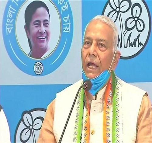 Former Bharatiya Janata Party leader Yashwant Sinha