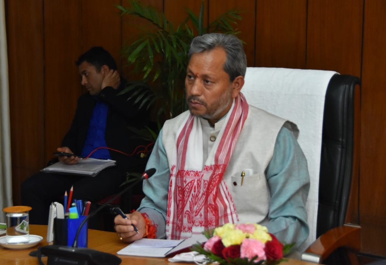 Uttarakhand Chief Minister Tirath Singh Rawat