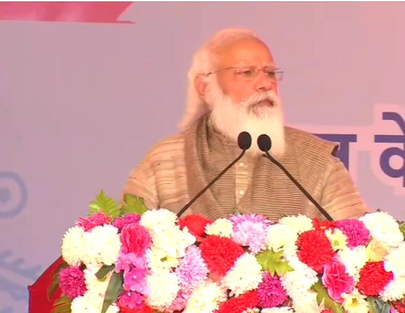 PM Modi addressing  Matua community in Bangladesh