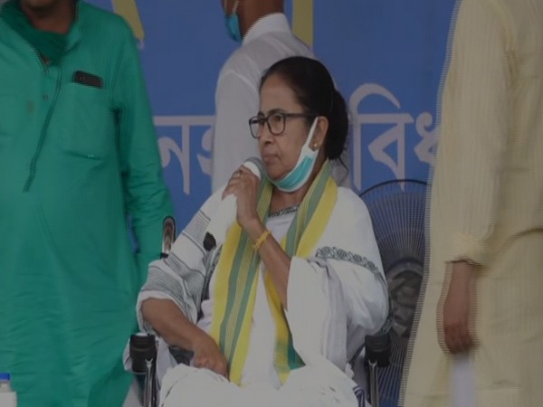 West Bengal Chief Minister Mamata Banerjee speaking in Coochbehar on Friday