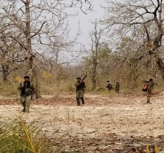 Visuals from the Sukma-Bijapur Naxal attack site