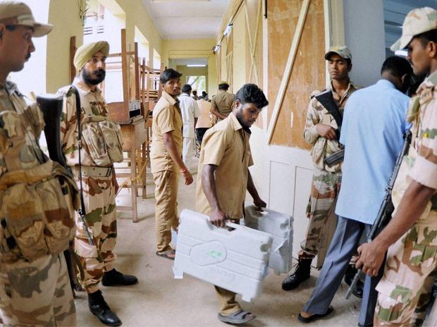 Voting Center of :Puducherry