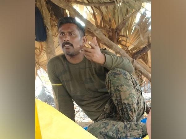Rakeshwar Singh Manhas, the commando from the  CRPF (File Photo)
