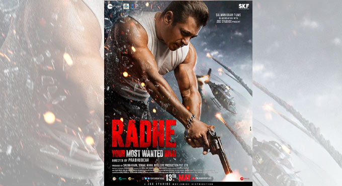 Radhe: Your Most Wanted Bhai' poster