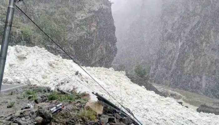 Glacier burst reported in Uttarakhand's Niti Valley