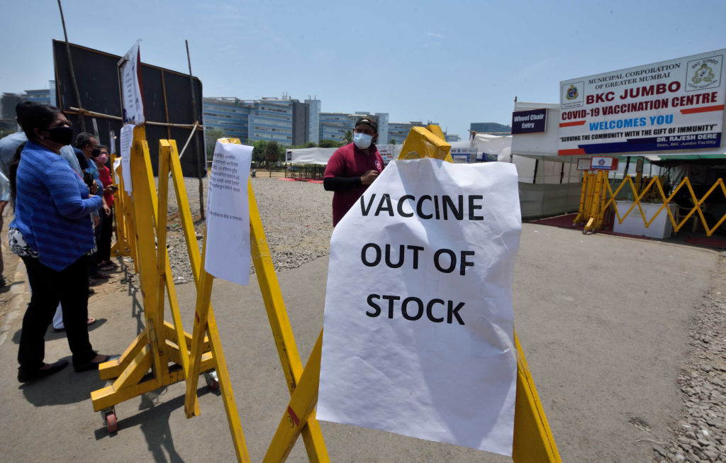 Visuals from BKC jumbo COVID-19 vaccination center in Mumbai