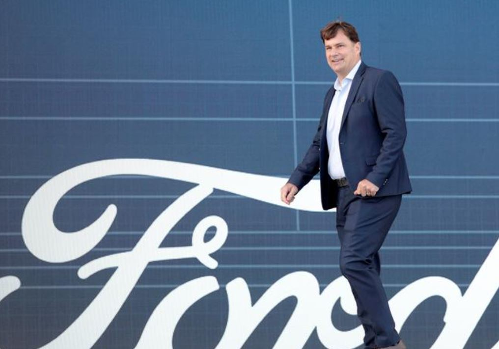 Ford Motor Co. CEO Jim Farley (File Photo)