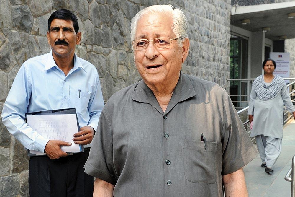 Former Attorney General (AG) and veteran lawyer Soli Sorabjee