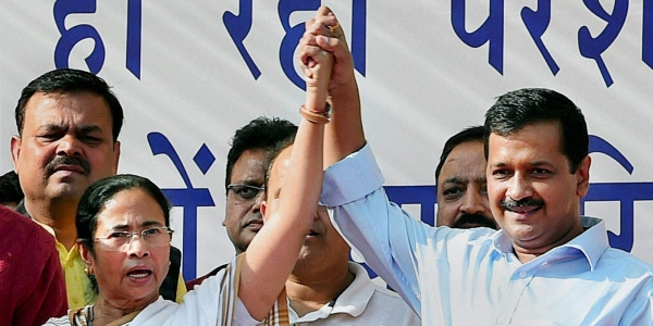 Arvind Kejriwal  and  Mamata Bannerjee