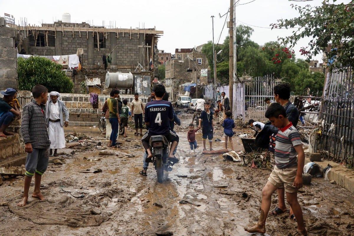 Flood in Eastern Yemen