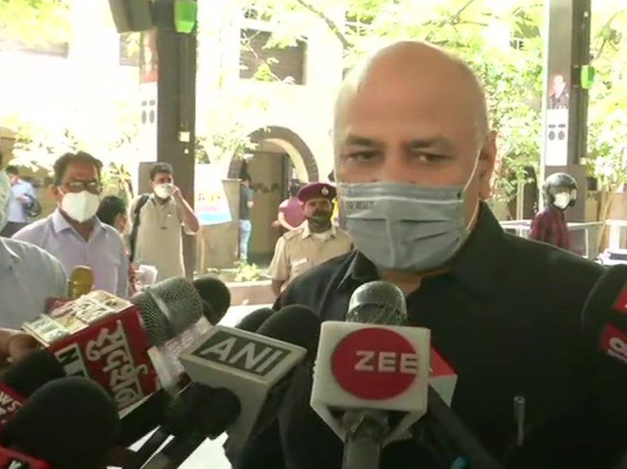 Delhi Deputy Chief Minister Manish Sisodia