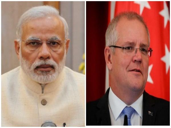 PM Modi and  Austrailian PM Scott Morission