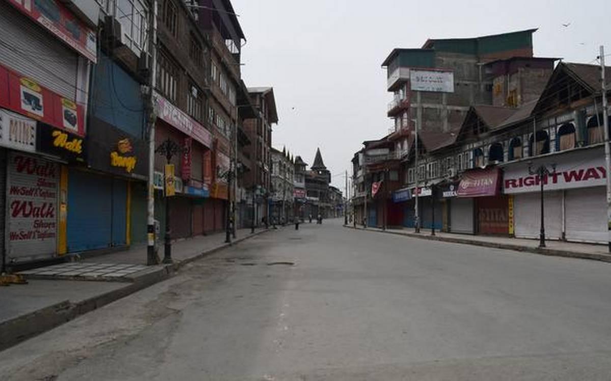 Lockdown in Kashmir