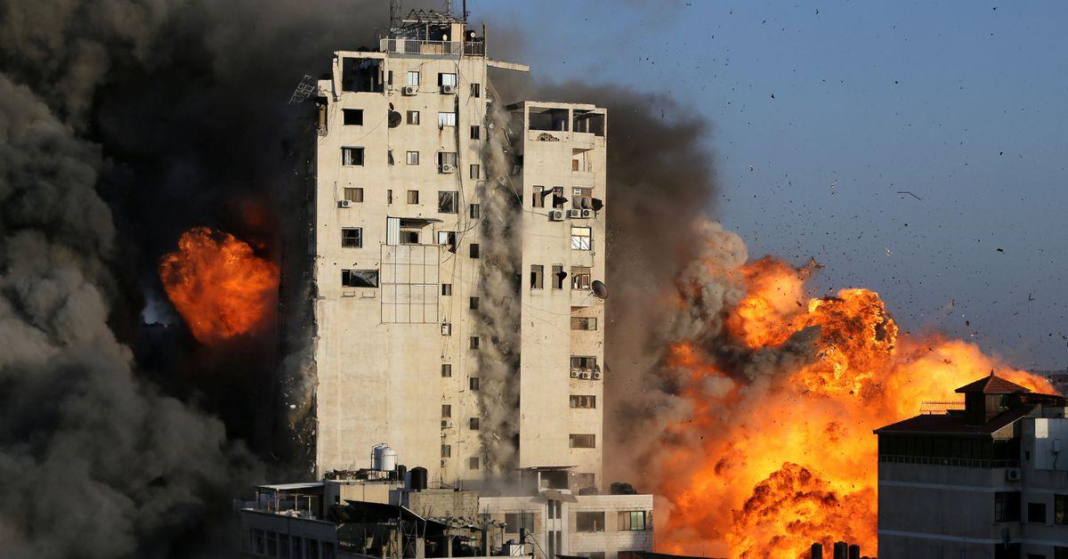 Hamas hits deep in Israel
