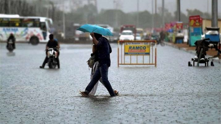 Rajasthan receives rains