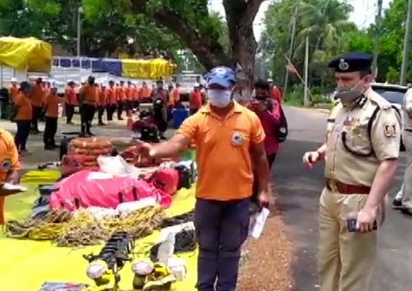 Preparedness for Post-Cyclone Rescue and Recovery Operations