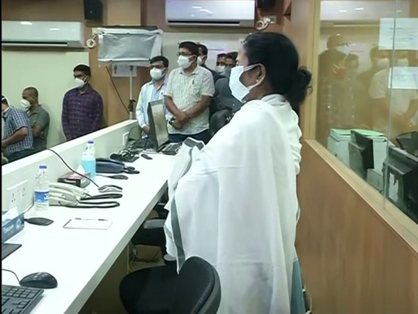 WB CM Mamata Banerjee spends night at Nabanna to keep watch on ground