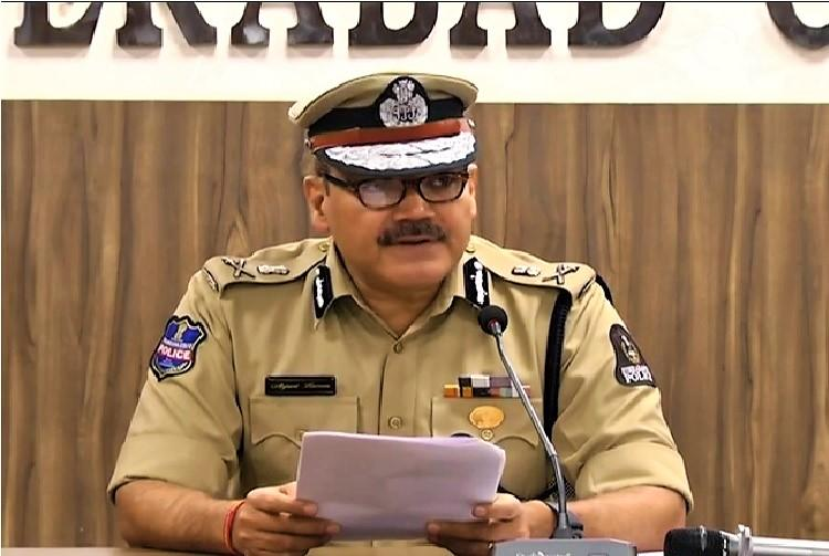 Hyderabad Police Commissioner. Anjani Kumar