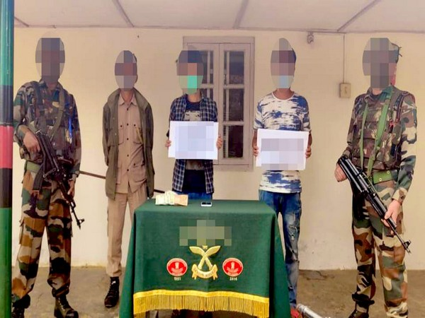 Security forces apprehend two for extortion