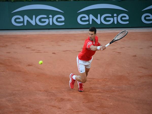 Novak Djokovic. (Photo/ Roland-Garros twitter)