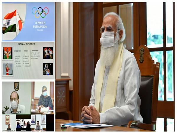 Prime Minister Narendra Modi holds review meeting regarding Olympic preparations