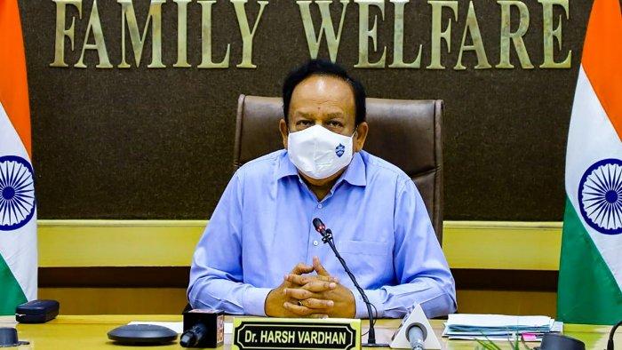 Health and Family Welfare Minister Harsh Vardhan
