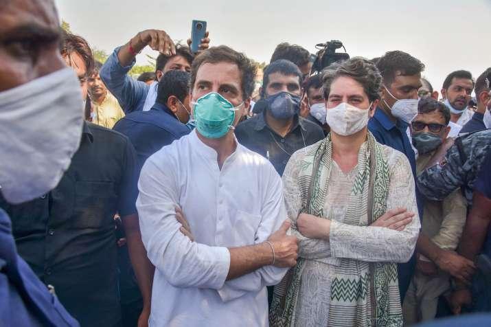 Rahul Gandhi and Priyanka Gandhi (File Photo)