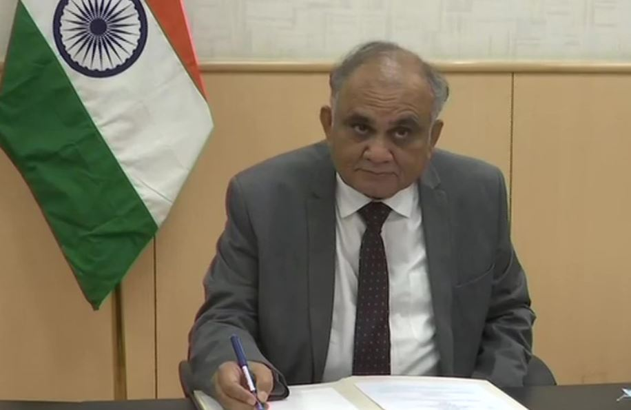 Former IAS officer Anup Chandra Pandey is new Election Commissioner