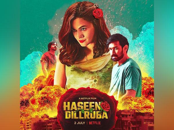 Poster of 'Haseen Dillruba