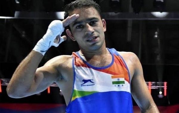 Pugilist Amit Panghal