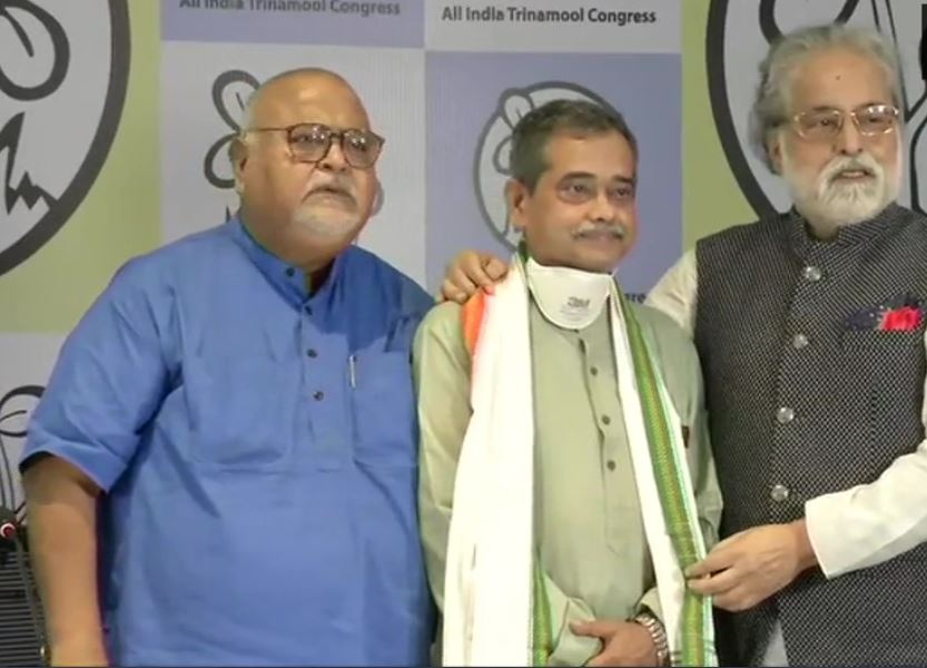 Abhijit Mukherjee, son of former President Pranab Mukherjee, joins Trinamool Congress