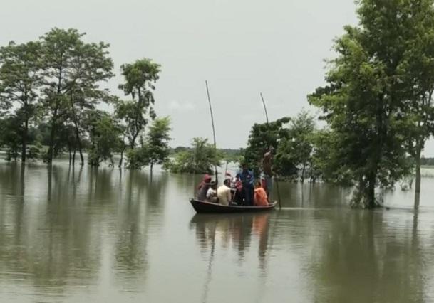 Flooding in Bihar's East Champaran