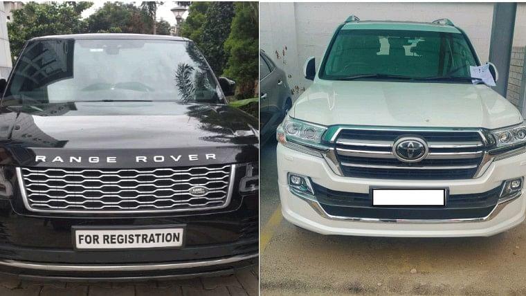 luxury car smuggled